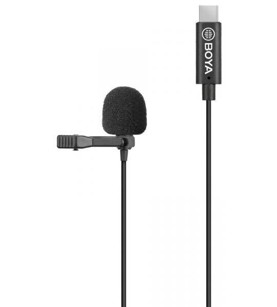 Boya BY-M3 Lavalier Microfoon voor usb C