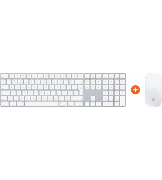 Apple Magic Keyboard + Apple Magic Mouse Wit