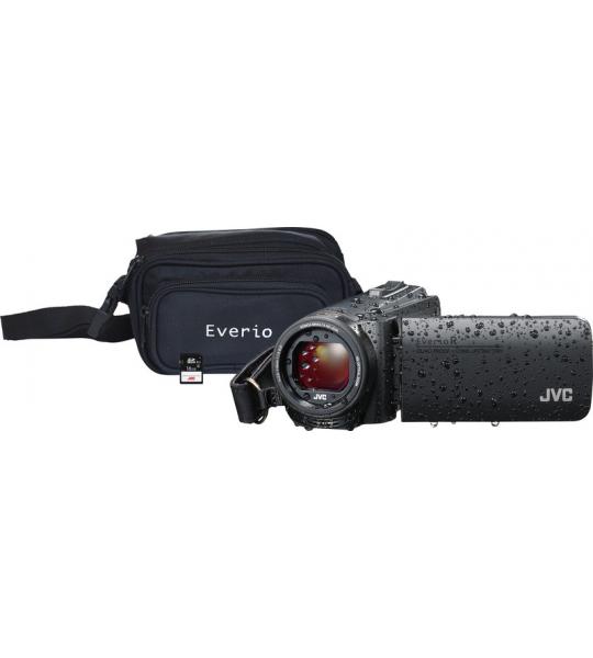 JVC GZ-R495BEU Zwart + geheugenkaart + tas