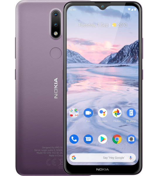 Nokia 2.4 32 GB Paars
