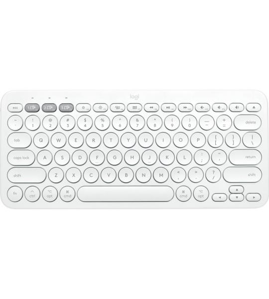 Logitech K380 Draadloos Toetsenbord QWERTY Wit