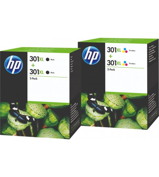 HP 301XL Cartridges Duo Combo Pack