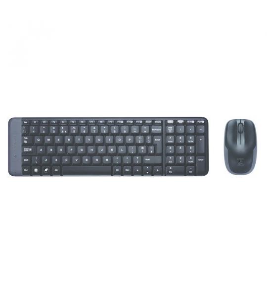 Logitech MK220 Wireless Combo (Qwerty) Toetsenbord
