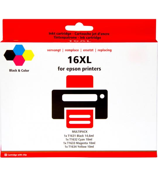 Pixeljet 16XL Cartridges Combo Pack