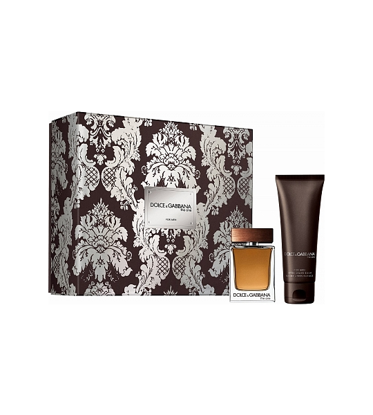 Set Dolce and Gabbana The One For Men Geschenkset Edt 50ml  Asb 75ml
