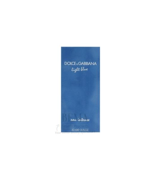 50ml Dolce and Gabbana Light Blue Intense Eau De Parfum