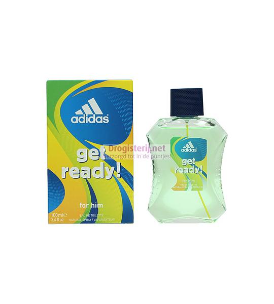 100ml Adidas Get Ready Eau De Toilette Spray