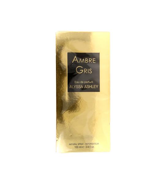 100ml Alyssa Ashley Ambre Gris Eau De Parfum