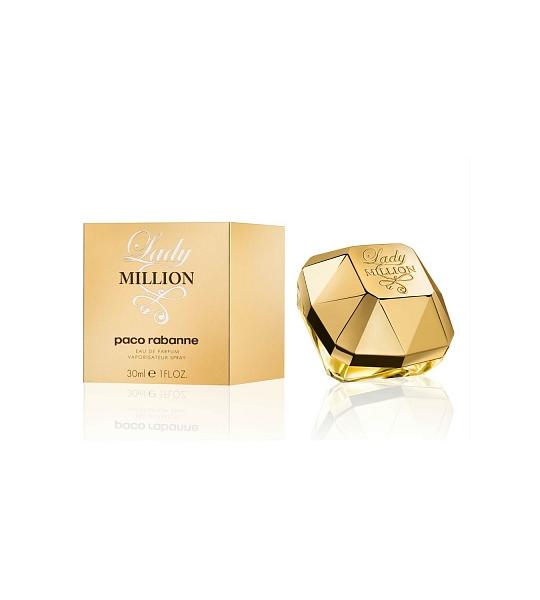 30ml Paco Rabanne Lady Million Eau De Parfum Spray