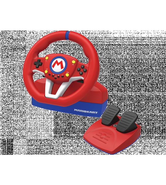 Hori Mario Kart Racing Wheel Pro Mini stuur Rood/blauw