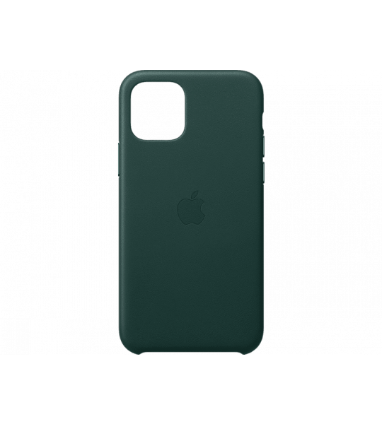 Apple iPhone 11 Pro Leather Case Groen