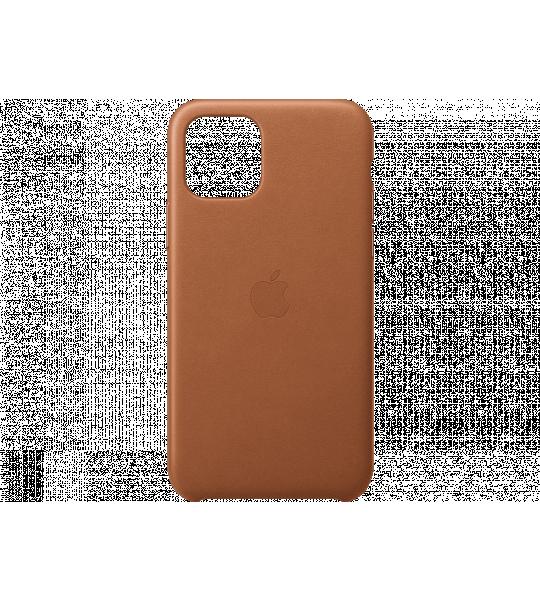Apple iPhone 11 Pro Leather Case Bruin