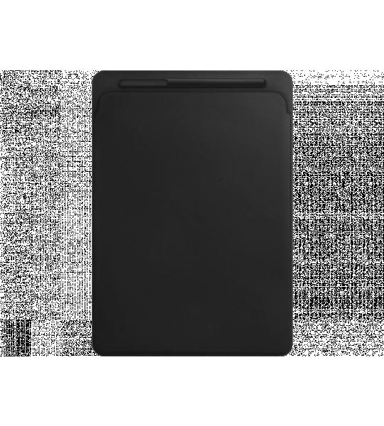 Apple iPad Pro 12.9 Leren Sleeve Zwart