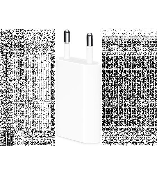 Apple 5W USB-lichtnetadapter voor Apple iPhone/iPod/Watch/iPad Wit