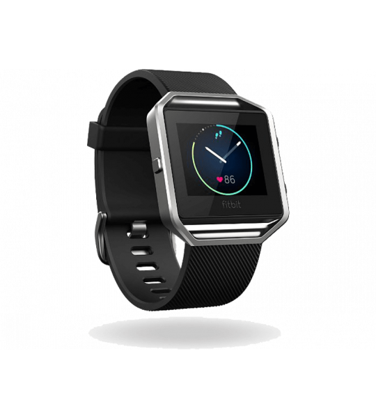 Fitbit Blaze Classic Zwart L