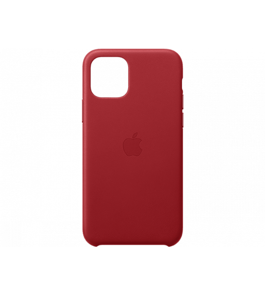 Apple iPhone 11 Pro Leather Case (Product)Red (Rood)