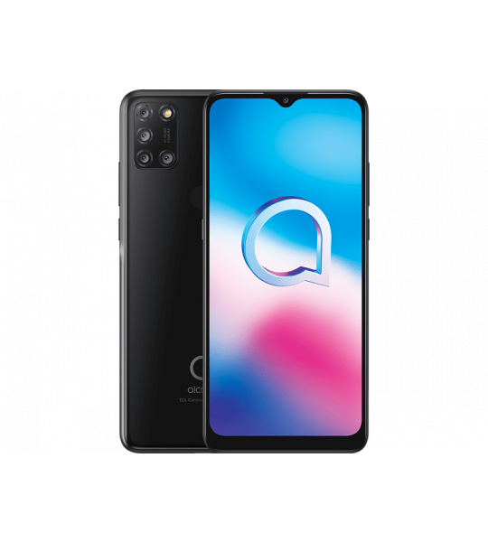 Alcatel 3X (2020) - 64 GB Zwart