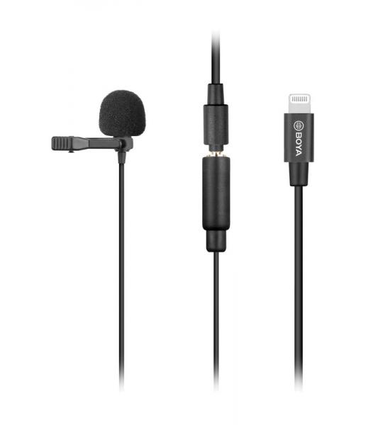 Boya BY-M2 Dasspeldmicrofoon voor iOS