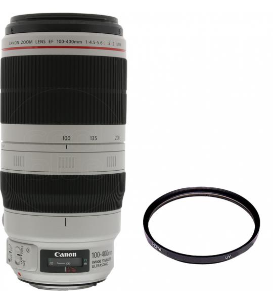 Canon EF 100-400mm f/4.5-5.6L IS II USM + Hoya HDX UV 77mm
