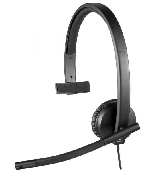 Logitech H570e Mono USB-A Office Headset