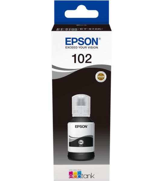Epson 102 Inktflesje Pigmentzwart