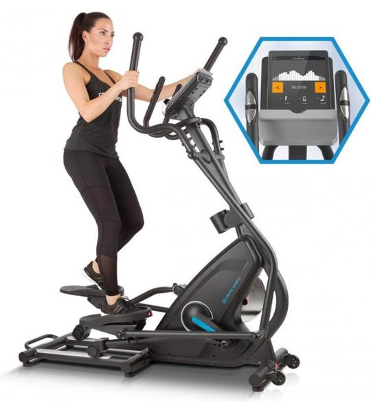 CAPITAL SPORTS Helix Pro Crosstrainer ,  met Bluetooth 4.0, tablethouder en USB-lader , Max. gebruikersgewicht: 130 kg