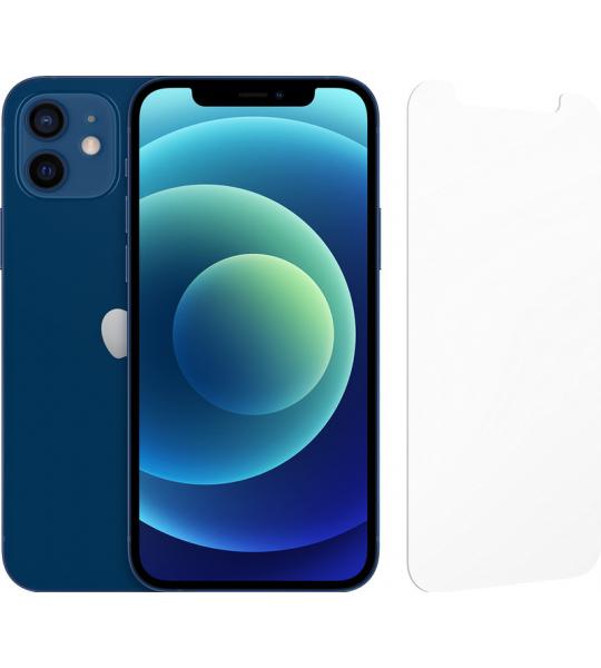 Apple iPhone 12 256GB Blauw + InvisibleShield Glass Elite Sc