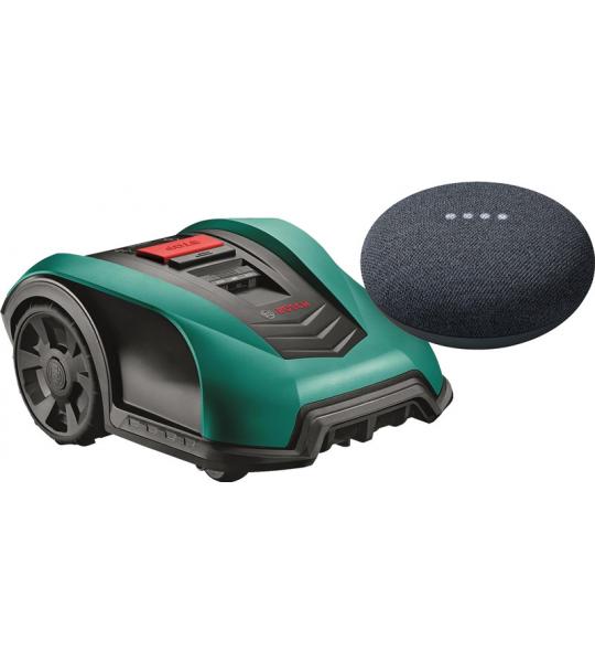 Bosch Indego S+ 350 + Google Nest Mini Grijs