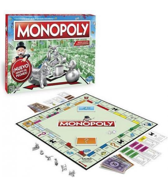 Barcelona Monopoly Hasbro