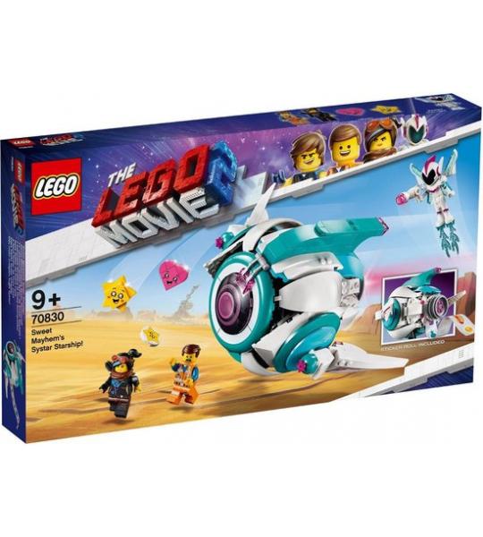 DE LEGO FILM 2 70830 Sweet Mischmaschs Systar 502 stuks: De set bevat 5 figuren uit DE LEGO® FILM 2