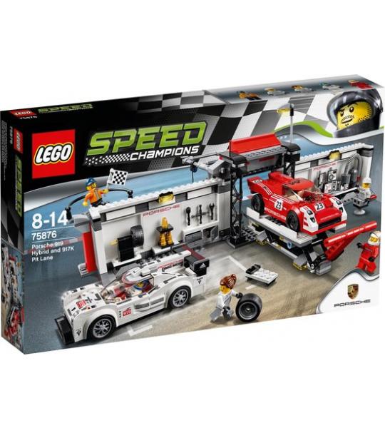 Bouwstenen   Basic - Lego 75876 Champions Porsche