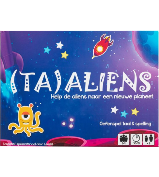 (TA)ALIENS - Spelling 2e leerjaar - Level21