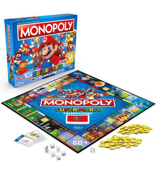 Hasbro Monopoly - Super Mario Celebration Edition - Bordspel - ENG