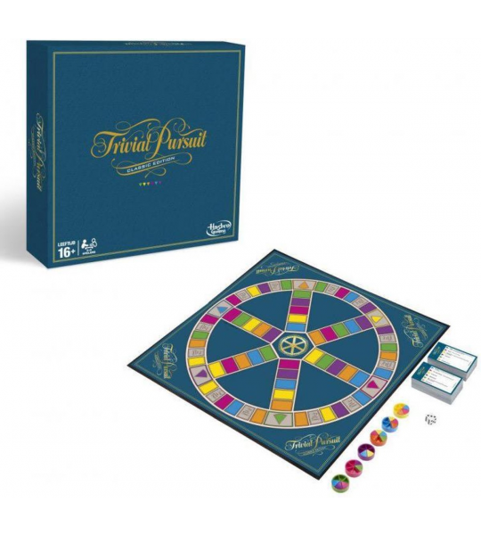 Trivial Pursuit Classic Edition (Engels) (Board Game)