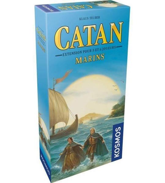 Catan - ext. - Marins - 5-6 Joueurs