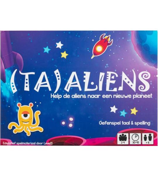 (TA)ALIENS - Spelling Groot Dictee - Partyspel - Level21