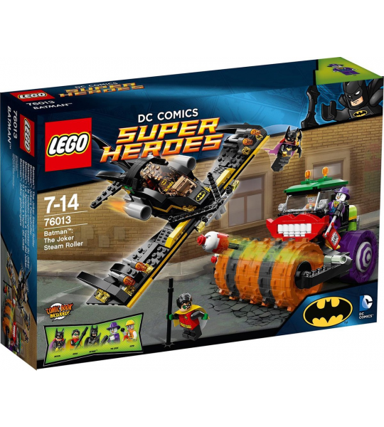 LEGO Super Heroes The Joker Stoomwals - 76013