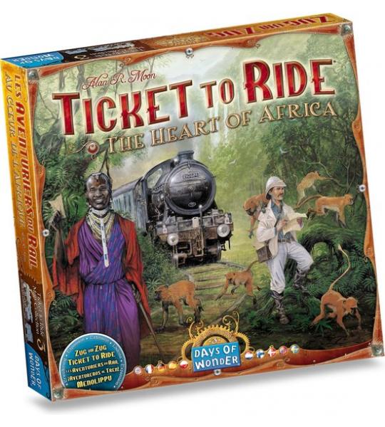 Ticket to Ride Afrika - Uitbreiding - Bordspel