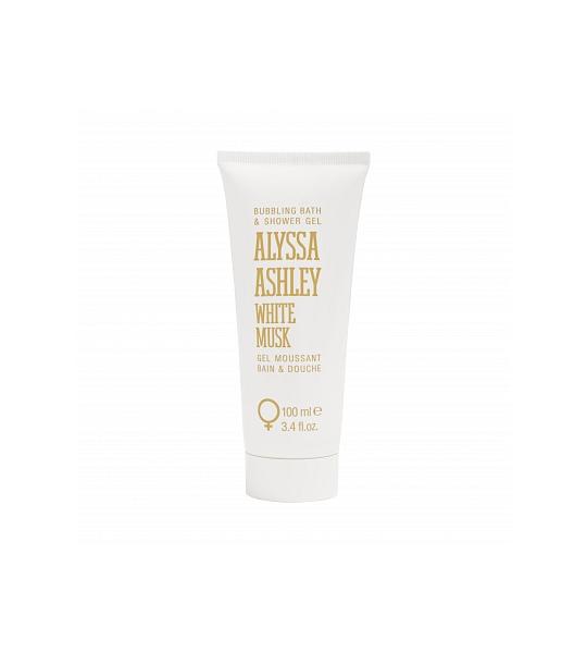 100ml Alyssa Ashley White Musk Bath And Showergel