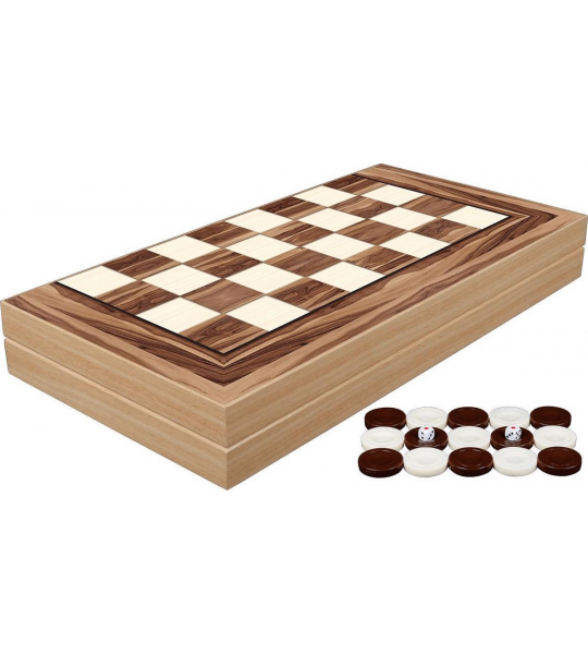 Yenigun Tavla - (Turks) bordspel van hout backgammon - Special edition