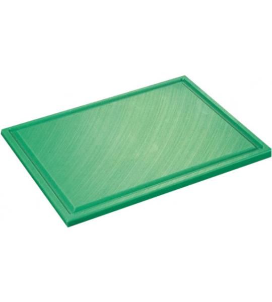 Inno Cuisinno Horeca Snijplank met ril 32,5 cm Groen