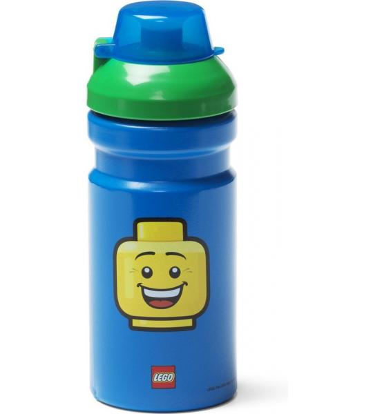 Drinkfles Iconic Boy 0.39 L, Blauw - LEGO