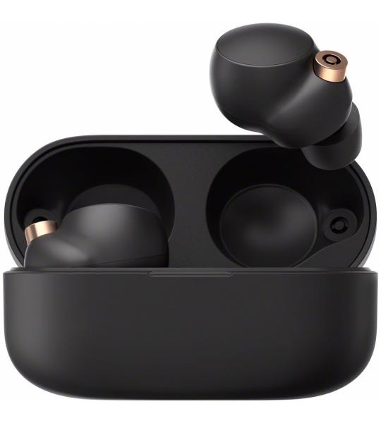 Sony draadloze koptelefoon WF-1000XM4B (Zwart)