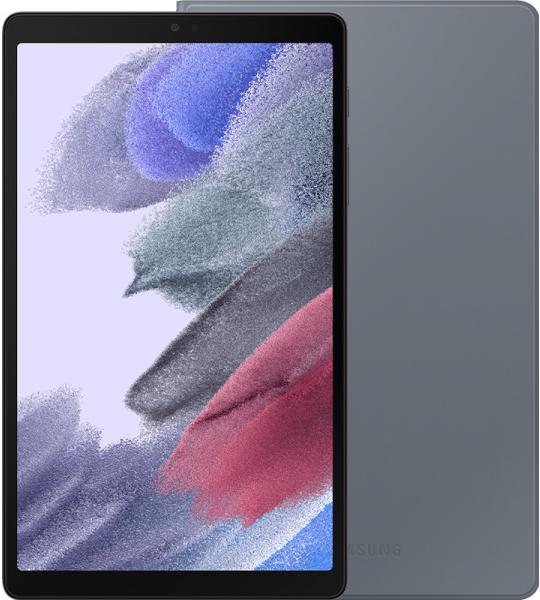 Samsung Galaxy Tab A7 Lite 32GB Wifi Zwart + Samsung Book Cover Grijs