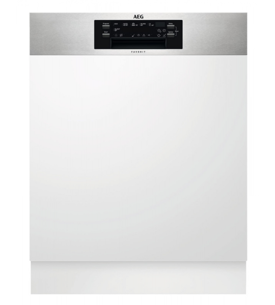 AEG FEE63800PM ComfortLift / Inbouw / Half geintegreerd / Nishoogte 82 - 90 cm