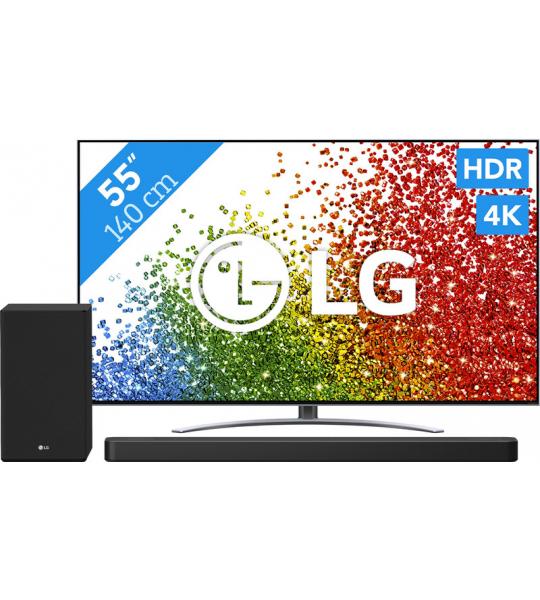 LG 55NANO886PB (2021) + soundbar