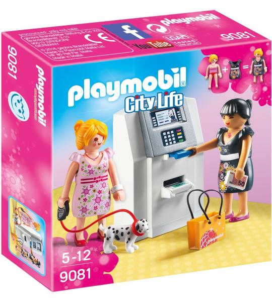 PLAYMOBIL City Life Geldautomaat  - 9081