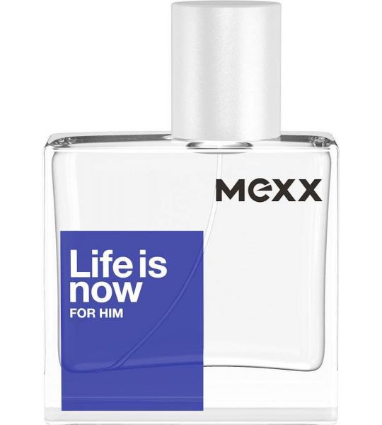 30ml Mexx Life Is Now For Him Eau De Toilette