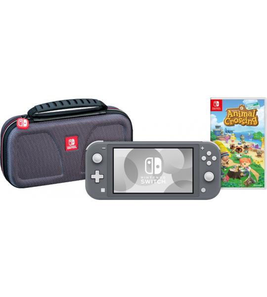 Game onderweg pakket - Nintendo Switch Lite Grijs