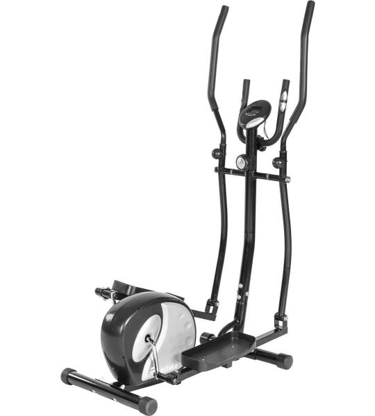 Birlaw® Aluminium Crosstrainer - Crosstrainer met Geïntegreerde Hartslagmeter - Hometrainer met LCD Display - Voorzien van 8 verstelbare standen